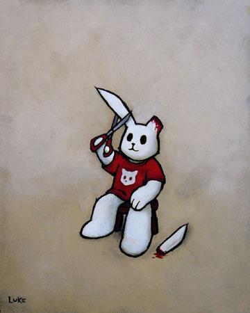 Название: Hare Cut Название на русском: Коротко о картине: Дата создания.  Художник.  Теги.  Найти в. Luke Chueh.